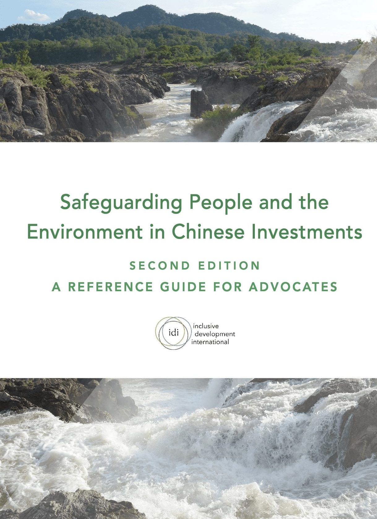 Safeguarding People and the Environment in Chinese Investments Cover